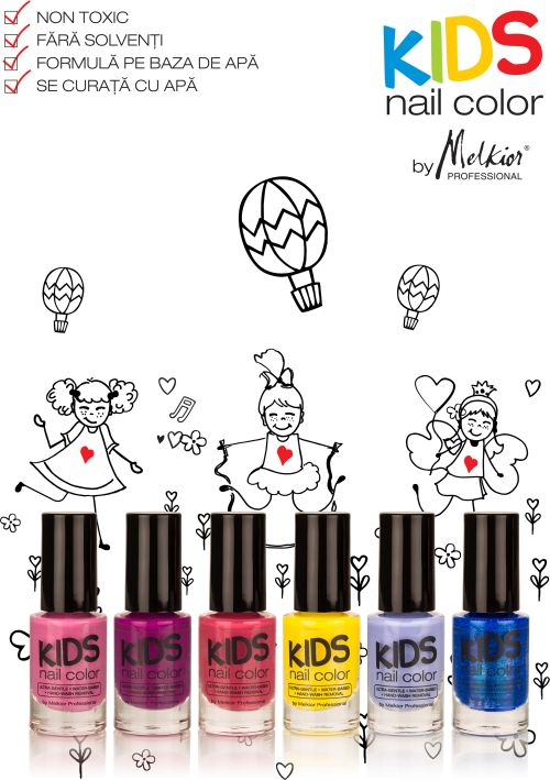 Kids Nail Color by Melkior