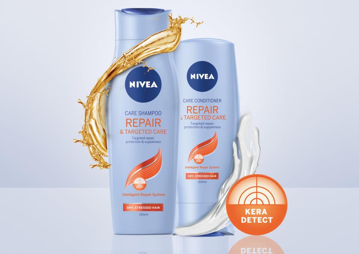 NIVEA lanseaza o noua gama revolutionara  destinata ingrijirii parului degradat