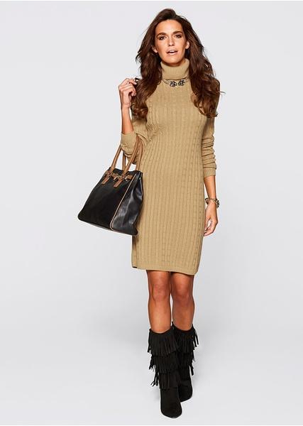 Rochie tricotata in tendinte