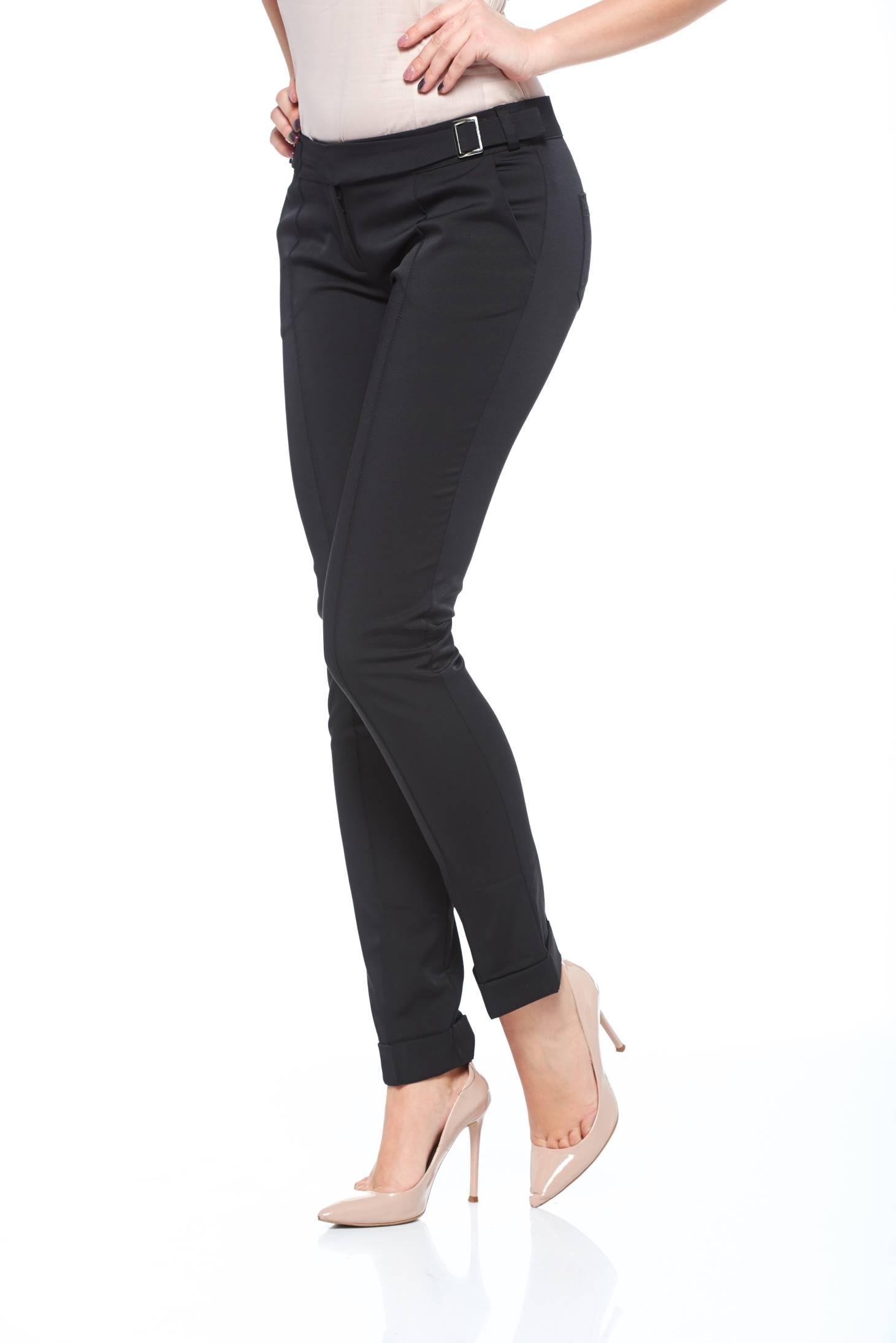 Pantaloni Fofy Allure Black