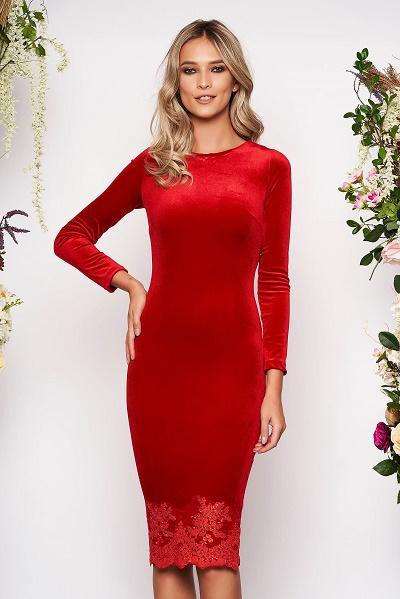 Rochii Rosii Modele Online