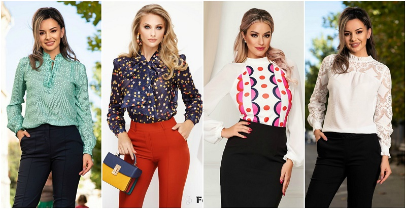 Bluze Elegante de Dama - Modele Online